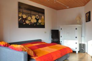 Slaapbed, vakantie woning Giethoorn Lodge